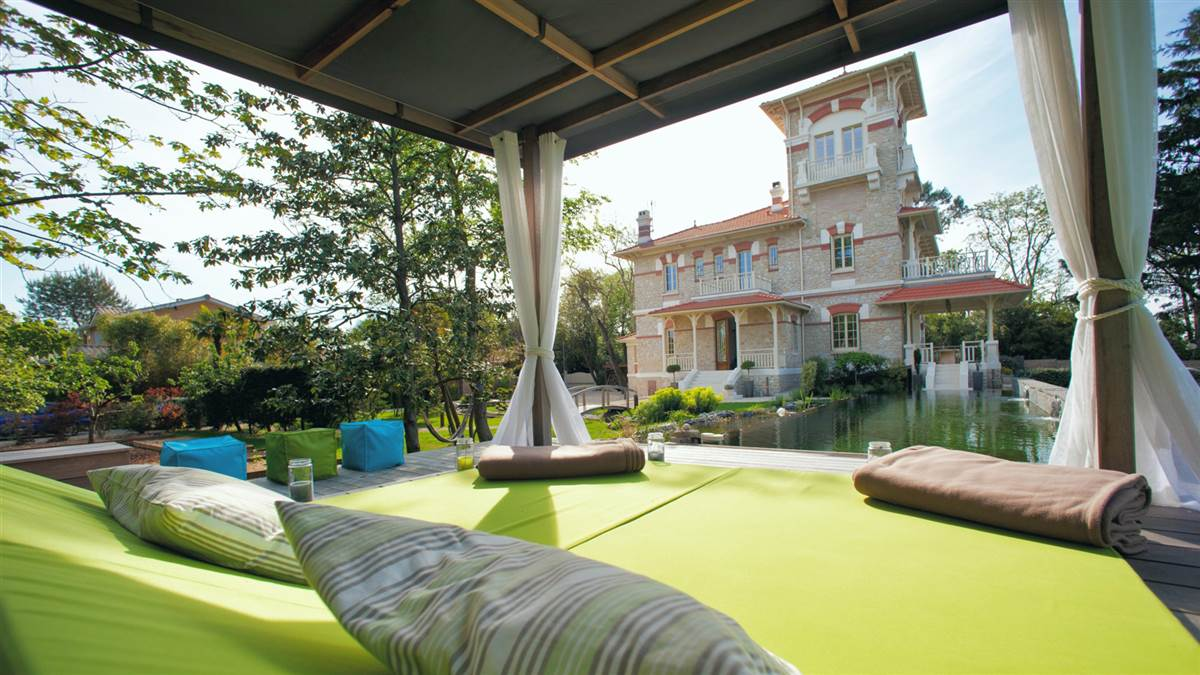 Villa la tosca hotel de charme arcachon villa de luxe france - Hotel de luxe bassin arcachon ...
