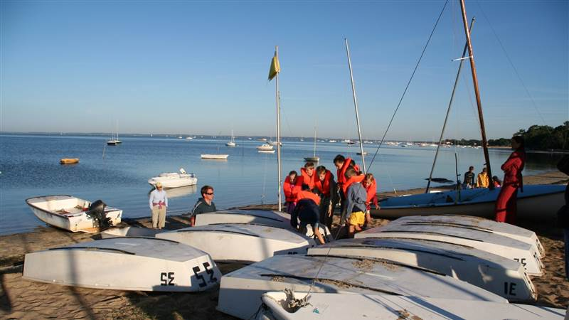 sailing school 5 min walk from la tosca